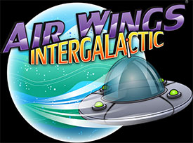 Air Wings Intergalactic Logo